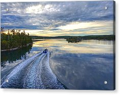 Sambro Basin II Nova Scotia Acrylic Print by Heather Vopni