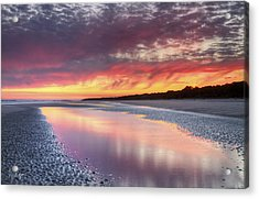 Same Night Six Fifteen Acrylic Print by Phill Doherty
