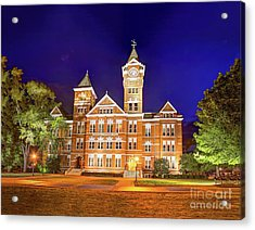 Samford Hall At Night Acrylic Print