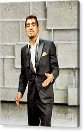 Sammy Davis Jr., Hollywood Legend By John Springfield Acrylic Print
