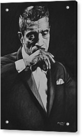 Sammy Davis Acrylic Print by Steve Hunter