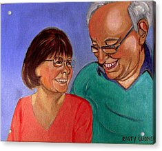 Samson And Delia Acrylic Print