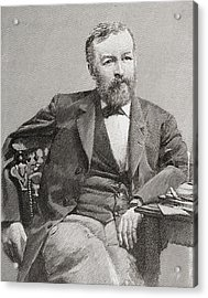 Samuel Pierpont Langley, 1834 - 1906 Acrylic Print by Vintage Design Pics