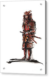 Samurai Armor Acrylic Print