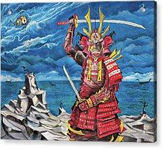 Samurai Sin-mint Acrylic Print