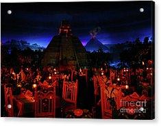 San Angel Inn Mexico Acrylic Print by David Lee Thompson