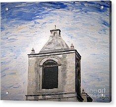 San Antonio Belltower Acrylic Print by Kevin Croitz