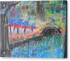San Antonio By The River I Acrylic Print