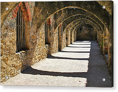 Acrylic Print featuring the photograph San Antonio Mission San Jose by Gregory Ballos