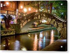 San Antonio River Walk V1 Acrylic Print