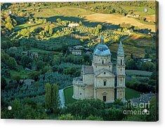 Acrylic Print featuring the photograph San Biagio Church by Brian Jannsen