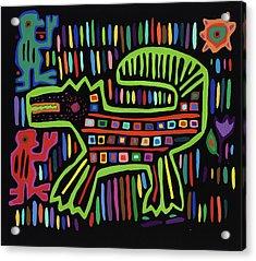 San Blas II Acrylic Print