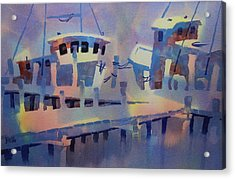 San Carlos Marina Acrylic Print