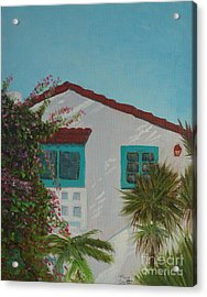 San Clemente Art Supply Acrylic Print