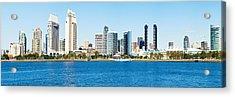 San Diego Cityscape Panorama Acrylic Print