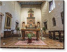 San Diego De Alcala Altar Acrylic Print