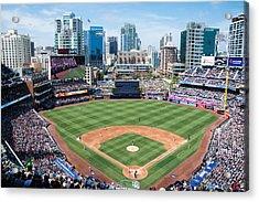 San Diego Padres Acrylic Print by Robert VanDerWal