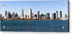 San Diego Panorama Acrylic Print by Paul Velgos