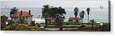 San Diego Pt Loma Lighthouse Acrylic Print by Jan Cipolla