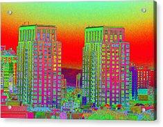 San Diego Scenic Acrylic Print