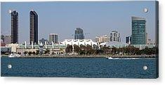 San Diego Skyline 4 Acrylic Print by Joseph R Luciano