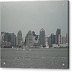San Diego Waterfront Acrylic Print