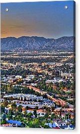 San Fernando Valley Vertical Acrylic Print