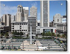 San Francisco . Union Square . 5d17938 Acrylic Print