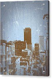 San Francisco 2 Acrylic Print by Naxart Studio