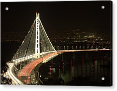 San Francisco Bay Bridge New East Span Acrylic Print