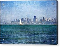 San Francisco Bay Acrylic Print by Serena King