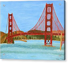 San Francisco Bridge  Acrylic Print