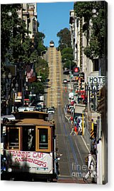 San Francisco Cable Cars Acrylic Print