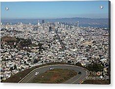 San Francisco California From Twin Peaks 5d28034 Acrylic Print
