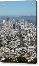San Francisco California From Twin Peaks 5d28037 Acrylic Print