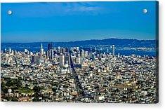San Francisco California Acrylic Print by Leandro Centomo