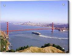 Acrylic Print featuring the photograph San Francisco - City By The Bay by Art Block Collections