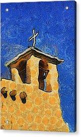 San Francisco De Asis Church In Ranchos De Taos Acrylic Print by Mitch Tillison