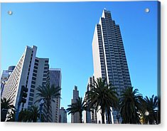 San Francisco Embarcadero Center Acrylic Print