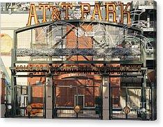 San Francisco Giants Att Park Juan Marachal O'doul Gate Entrance Dsc5778 Acrylic Print