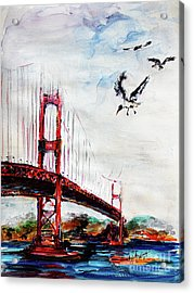 San Francisco Golden Gate Bridge  Acrylic Print