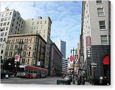 San Francisco - Jessie Street View Acrylic Print by Matt Harang