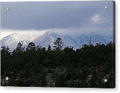 San Francisco Mountains From Walnut Canyon Acrylic Print