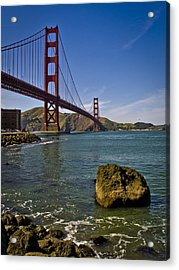 San Francisco Acrylic Print by Niels Nielsen