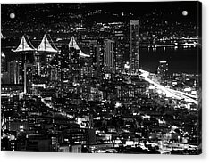 Acrylic Print featuring the photograph San Francisco Nights by Rand