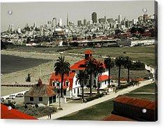 San Francisco Panorama 2015 Acrylic Print