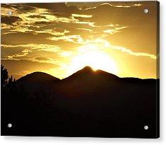 San Francisco Peaks At Sunset Acrylic Print