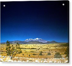 San Francisco Peaks Acrylic Print by Jerry Bokowski