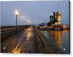 San Francisco Pier 39 Acrylic Print by Kobby Dagan