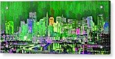 San Francisco Skyline 104 - Da Acrylic Print by Leonardo Digenio